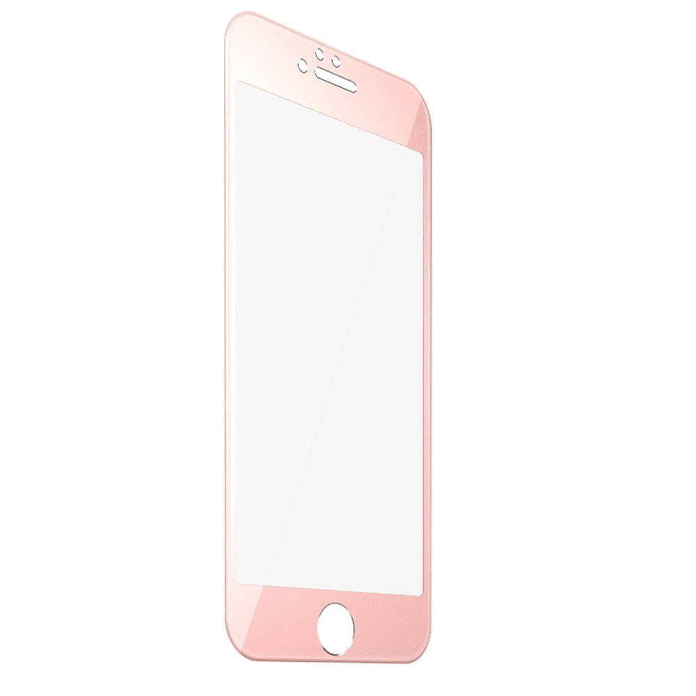Iphone 6S Screen Protector Rose Gold Screen Protector F-Color Full Coverage B.. 14