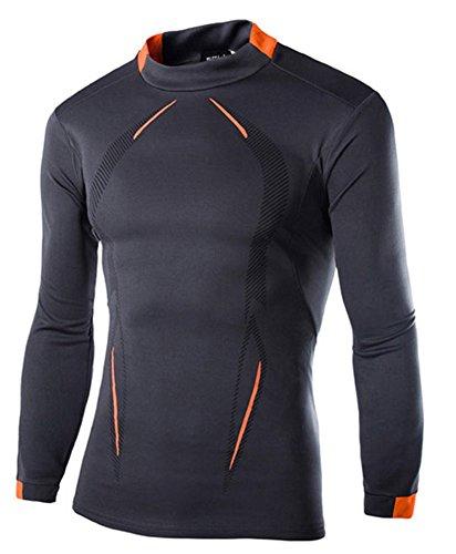 S-BBG アンダーシャツ メンズ コンプレッション スポーツインナー 速乾 消臭 長袖 サイクルウェア 伸縮