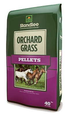 STANDLEE HAY COMPANY 1375-30101-0-0 Orch Grass Pellet, 40 lb