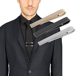 ZHQUN Business Hombres Moda Simple Traje Tie Clip Corbata Cierre ...