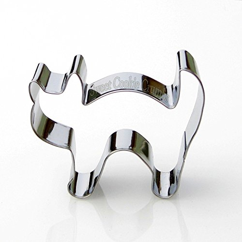 Scared Cat Cookie Cutter- Stainless Steel