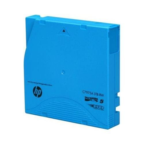 HP C7975AN LTO-5 Ultrium Non-custom Labeled Data Cartridge, 20pack, 3tb by HP