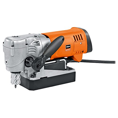 "Jancy Slugger JMC USA 90 Magnetic Base Drill, 1-3/8"" Capacity, 6.66"" Height, 1100W, 5 Amp, 130-520 RPM, Plastic and Metal"