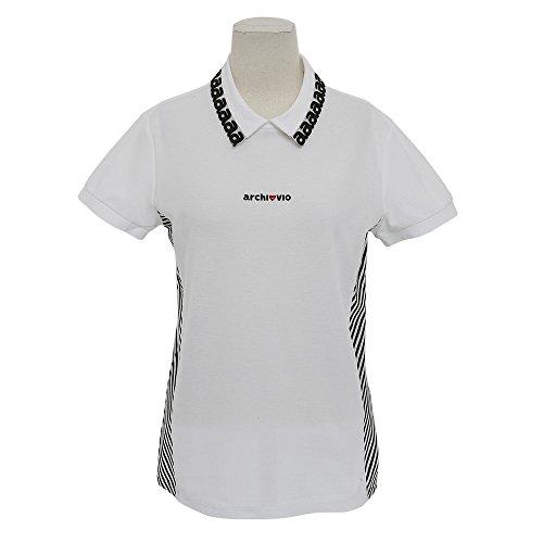 ポロシャツ レディース アルチビオ archivio 2018 春夏 ゴルフウェア S(36) ホワイト(090) a759319