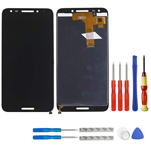 (swark LCD Display Compatible with Alcatel A30 Fierce 5049W 5049Z 5049 Digitizer Touch Screen Replacement)