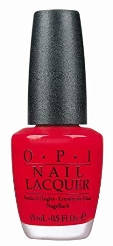 O.P.I Nail Lacquer, Big Apple Red, 15ml