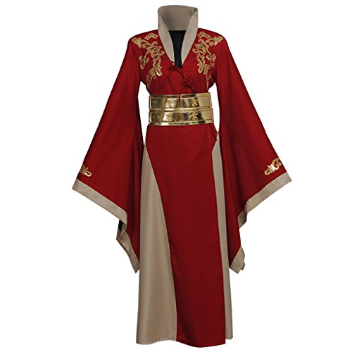 Game Of Thrones Cersei Costume (CosplayDiy Women's Dress for Game of Thrones Queen Cersei Cosplay Red M)