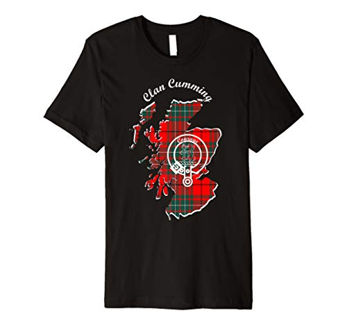 Cumming surname last name Scottish Clan tartan badge crest