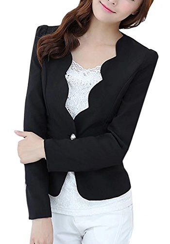Review Women's One Button Slim