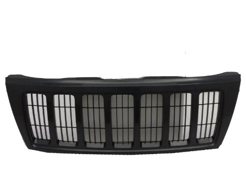 Grand Cherokee Laredo/Sport 04 Front Grille Car Black W/Black - Grille Cherokee Grand