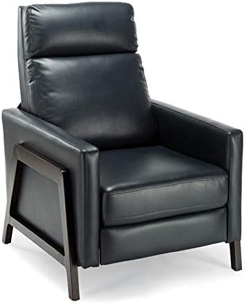 Comfort Pointe Maxton Push Back Recliner Midnight Blue Faux Leather Furniture Decor