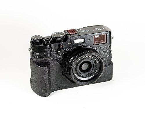 J.B. Camera Designs Fuji X100F Grip-Case Pro (Black) Made in USA