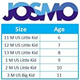 Josmo Girl's Heel Patent Dress Shoe with Bow, White Patent w/Stone, 13 M US Little