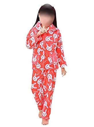 Sleepwear For Girls 6-7 Years, Red - Pajamas