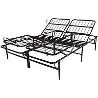 Brooklyn Bedding Manual Adjustable Platform Foundation, Queen