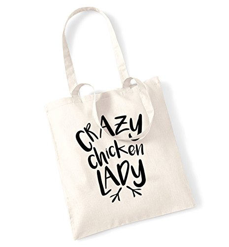 bag lady Natural Crazy chicken lady Crazy tote tote chicken 0Bn7pqUxw