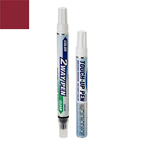 ExpressPaint 2WayPen - Automotive Touch-up Paint for Nissan Murano - Merlot Pearl Tricoat AX5 - Basic Package