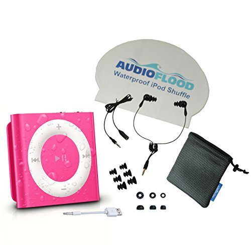 audioflood-waterproof-apple-ipod-shuffle-with-short-cord-headphone-pink