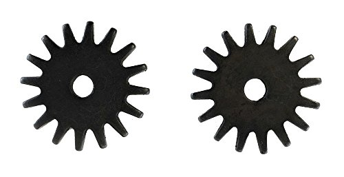 Western Spur Black Steel Rock Grinder Rowels 11/4 Inch Sold In Pair 16 Point