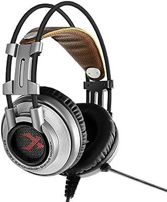 SamMoSon 2019 Auriculares Bluetooth Sony Mini Inalambricos,Xiberia K9 Auriculares para Juegos con Micrófono Auriculares para Pc / Ps4 / Laptop