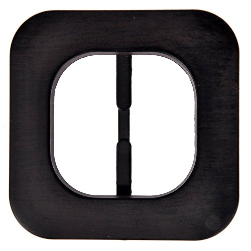 Mibo Special Finish Buckle Square Shape with Rounded Edges Mibo Imitation Wood Grain 50mm Inside Bar ()