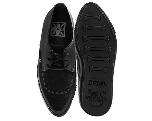 Fait EZC Creeper amp; Sneaker U Noir Masculine Shoes Chocs Cuir K Daim Noir T Pare xAzCTqx