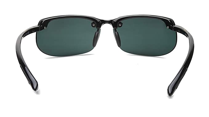 3f9e73ac7113 Maui Jim 412-02 Neutral Grey Banyans Rimless Sunglasses Polarised Golf,  Cycling: Maui Jim: Amazon.co.uk: Clothing