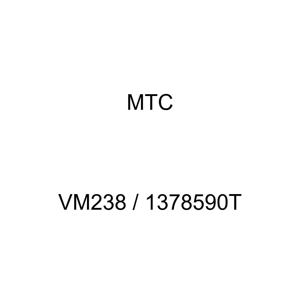 1378590T Radiator Triple Core 123 Tubes Volvo models MTC VM238