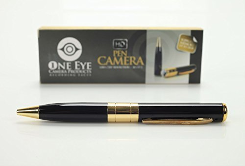 1 Eye Products Real HD 720p Hidden Camera Spy Pen Recorder,