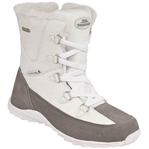 Trespass Zima - Zapatillas de deporte de invierno para mujer White