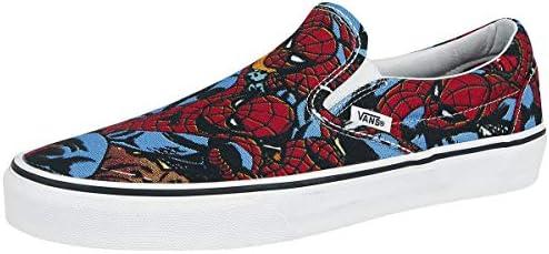 spiderman slip ons vans