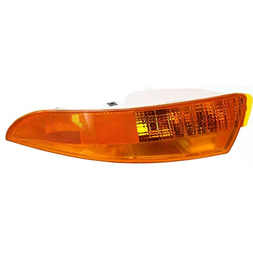 Evan-Fischer EVA22272012908 Park Lamp for Chevrolet Camaro 93-02 Left Lens and Housing Camaro Park Light Lens