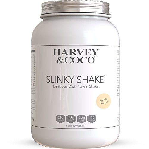 Harvey & Coco Weight Loss Support Protein Shakes For Men & Women, Vanilla