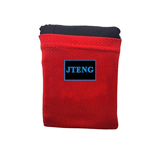 JTENG Picknick Decke mit wasserabweisender Unterseite Picknickdecke Wasserdichte Picknickdecke Campingdecke Stranddecke Tragbar, für den Außenbereich 110*160CM