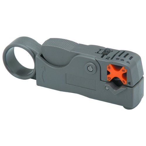 MPD Digital FK-29SP-KB1K Coaxial Cable Stripper for RG-58, RG-59, RG-6, RG-8X, Mini-8 and LMR-240 Coax Cables