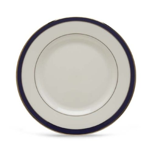 Lenox Federal Cobalt Platinum Bone China Salad Plate ()