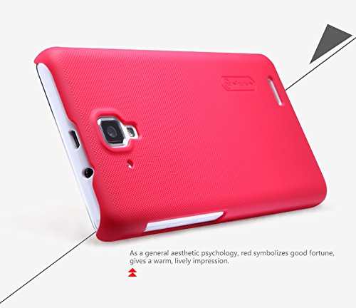 newest 218e0 fa50c Armor Frosted Back Case For Lenovo A536 (Red)
