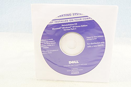 Dell Reinstallation CD Microsoft Windows XP Home Edition Service Pack 2 - PC Computer Program Software Install Disc Driver 2006 Part Number # - Shipping Usps International