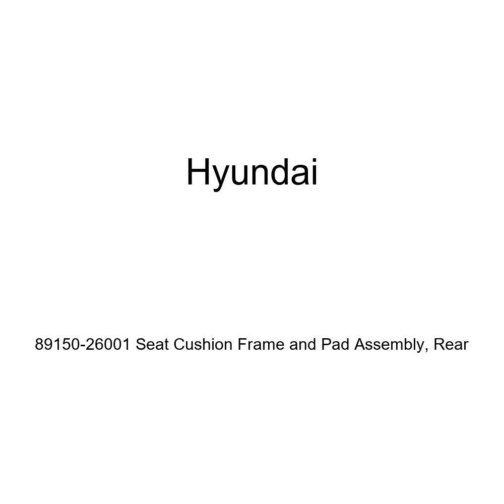 Rear Genuine Hyundai 89150-26001 Seat Cushion Frame and Pad Assembly