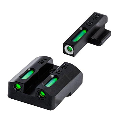 - TRUGLO TFX Tritium and Fiber-Optic Xtreme Handgun Sights for H&K VP9, VP40, P30, P30SK, P30L, 45, 45 Tactical (Including Compact)
