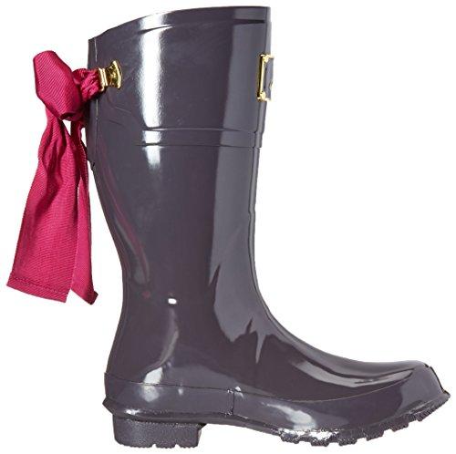 Joules Womens Evedon Short Rain Boot Grigio Ardesia