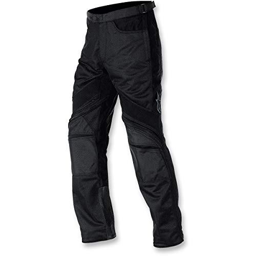 Alpinestars Men's Air-Flow Black Textile Pants, 2XL