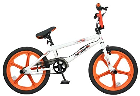 Redemption Freestyle - Bicicleta Bmx para niños, color naranja ...