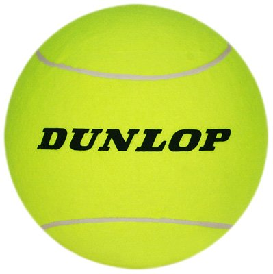Amazon Com Dunlop 5 Large Tennis Ball Large Tennis Balls For