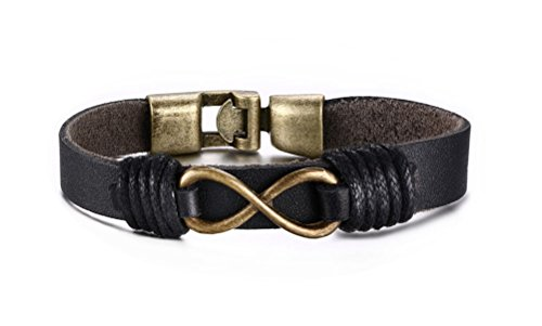 VNOX Jewelry Infinity Braided Bracelet product image