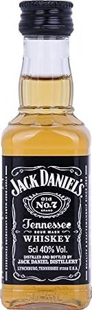 Jack Daniel's Jack Daniel's Tennessee Whiskey 40% Vol. 0,05l - 50 ml