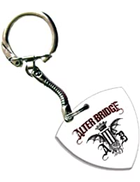 Alter Bridge Bass Pick Keyring Keychain Band Logo Plectrum