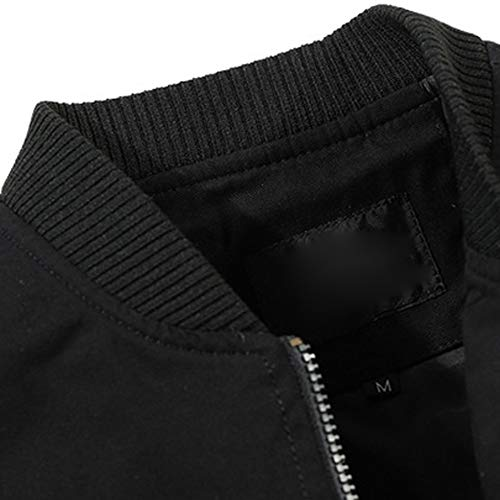 con con camicetta giacca cerniera slim soprabito giacca sport pullover lunga manica cappuccio casual autunno nero camicetta cappotto Uomo XL fit inverno w6pqzII