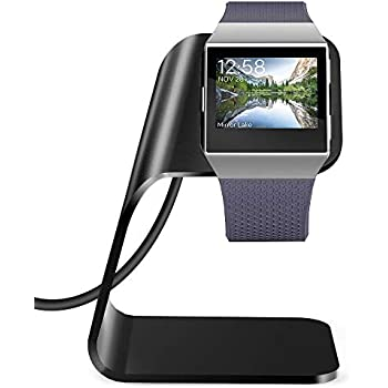 Amazon.com: Fitbit Ionic Charger Charging Stand Accessories ...