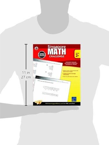 Singapore Math Challenge, Grades 2 - 5: Frank Schaffer ...